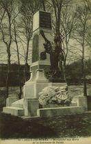 Monument aux Morts de la commune de Palais |