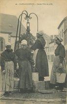Jeunes filles au puits |