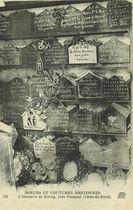L'Ossuaire de Kérity, près Paimpol (Côtes-du-Nord) |