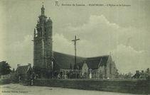 Environs de Lannion - L'Eglise et le Calvaire |