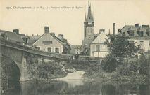 Le Pont sur la Vilaine et l'Eglise  