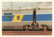 TGV A: ENTREE DE LA VOITURE-BAR ET BOGIE Y 237 AVEC SUSPENSION PNEUMATIQUE SR 10 | Porcherot J.P.