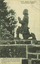 Statue en granit de St-Hubert (CAST) |