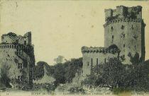 Ensemble de l'ancien château, côté Ouest |
