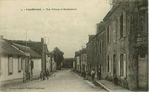 Rue d'Auray et Gendarmerie |