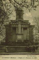 L'Eglise et le Monument des Morts | Combier