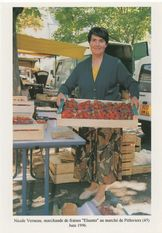 Nicole Verneau, marchand de fraises &quot | Touchard Philippe