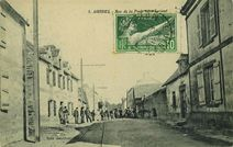 Rue de la Poste vers Lorient |