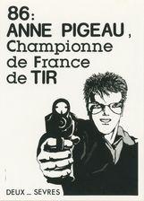 86: ANNE PIGEAU, Championne de France de TIR | Flo