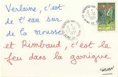 Verlaine, c'est de l'eau sur la mousse et Rimbaud, c'est le feu dans la garrigue | Savon