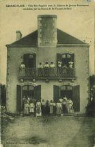 Villa Ker-Eugénie avec la Colonie de Jeunes Parisiennes conduites par les Soeurs de St-Vincent-de-Paul |