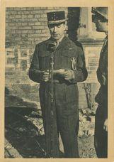 24 mars 1945. - Depuis le village de Scheibenhardt les ondes diffusent le premier message du Général de Lattre émis en territoire allemand | Braun & cie