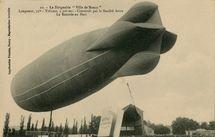 Aterrissage du Dirigeable Patrie à Verdun (23 novembre 1907) | Hauser J.