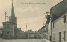 L'Eglise et la Place | Combier