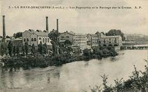 Les Papeteries et la Barrage sur la Creuse |
