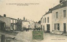 Place du Champ de Foire et route de Montaigu  