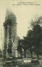 Ruines de l'Eglise de Botmel |