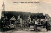 L'Eglise et le Monument aux Morts | Milliou Robert