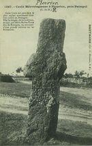 Croix Mérovingienne à Plourivo, près Paimpol  