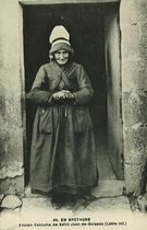 Ancien Costume de Saint-Jean-de -Boiseau |
