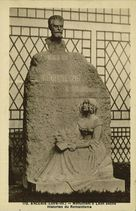 Monument à Léon Séché. Historien du Romantisme |