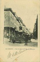 Rue du Port et Porte de l'Arsenal  