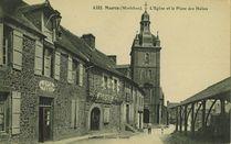 L'Eglise et la Place des Halles |
