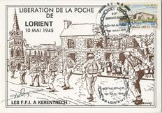 LIBERATION DE LA POCHE DE LORIENT - 10 MAI 1945 | Vachey D.