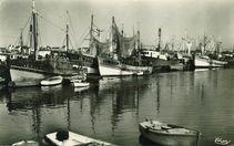 Les chalutiers au port |