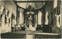 L'intérieur de l'Eglise. |