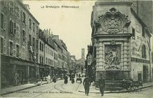 Fontaine et Rue du Morbihan |