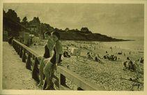 Saint-Enogat. La plage |