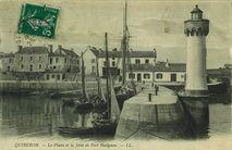Le Phare et la Jetée de Port Haliguen |