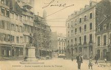 Statue Leperdit et Bourse du Travail |
