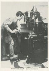 Ouvrier imprimeur | Touraine G.