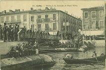 Cette - Pêche à la dorade et Pont Virla |