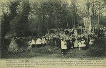 1. - Le Pardon des Nourrices, dit le Pardon de Kergornet, près Gestel. | Masse E.