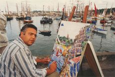 Le peintre Ramine | Kervinio Yvon