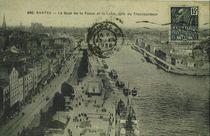 Le quai de la Fosse et la Loire, pris du Transbordeur |