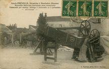 Louis PREVILLE, Mécanicien à Montsûrs (Mayenne) |