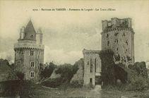 Environs de Vannes - Forteresse de Largoët - Les tours d'Elven |