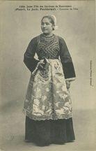 Jeune fille des Environs de Douarnenez |