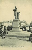 Statue Jules Simon |