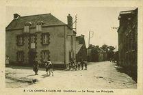 Le Bourg, rue principale |