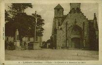 L'Eglise Le Calvaire et le Monument aux Morts |
