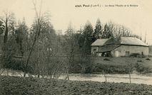 Le vieux Moulin et la Rivière |