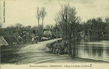 Environs de Guingamp. L'Etang et le Moulin du Poirier |