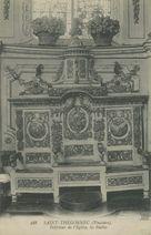 Intérieur de l'Eglise, les Stalles |
