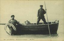 Baigneur et canotier |