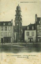 Clocher St-Thomas, Vue des Quais |